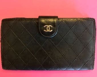 Chanel Quilted Portefeuille Wallet