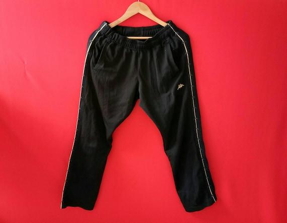 vintage kappa stripe sweatpants sports track pants rare original streetwear jogging athletic pants 1zcJj