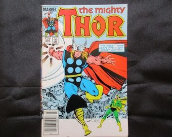 The Mighty Thor #365 (Thor As A Frog) Marvel Comics 1985
