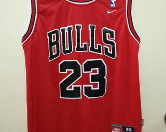 Vintage Jordan Chicago Bulls Basketball Jersey by Nike 23