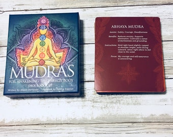 Mudras For Awakening The Energy Body Cards Oracle Reading Single Insight Card