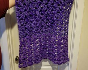 purple wrap