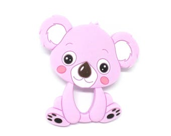Koala silicone teething special purple