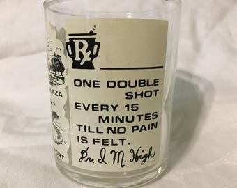 Vintage Kansas City shot glass