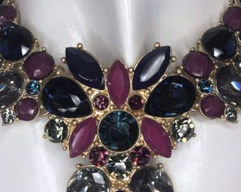Multi color Jewel Necklace