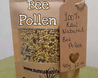 Raw Natural Bee Pollen / raw bee pollen / bee pollen