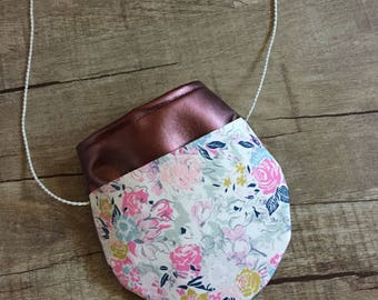 Crossbody Toddler girl purse / birthday gift/ little girl purse/ girls first purse/ kids purse / kids bag/ girls purse/ toddler purse