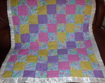 Butterfly baby/toddler blanket