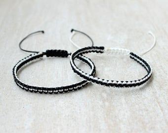Matching Bracelets Couples Bracelet Set Boyfriend Girlfriend Jewelry Distance Bracelet Relationship Bracelet Boyfriend Girlfriend Gift