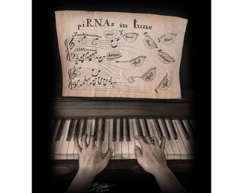 A Melody Played by Two Hands art print