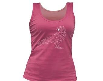 docker woman pink birdy
