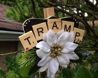 Tramp Christmas Ornament