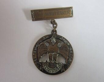 Antique 1917 Bronze Eagle Medal Philadelphia Conservatory