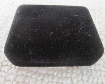 Vintage Black Velvet Cuff Link Jewelry Bos