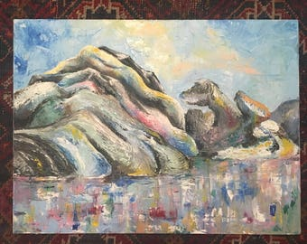 Pallete Knife Painting