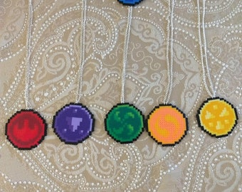 Zelda Six Sages Medallions Mini Fuse Beads