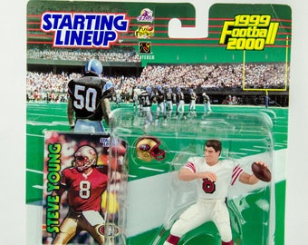 Starting Lineup 1999 NFL San Francisco 49ers Steve Young Action Figure
