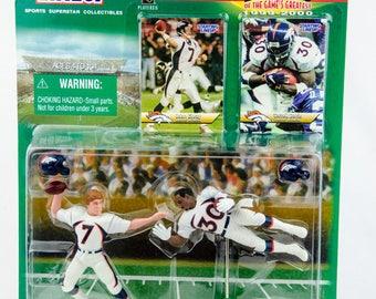 Starting Lineup NFL Classic Doubles John Elway Terrell Davis - Action Figure