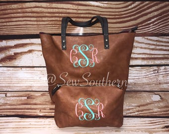 Monogram Handbag Set