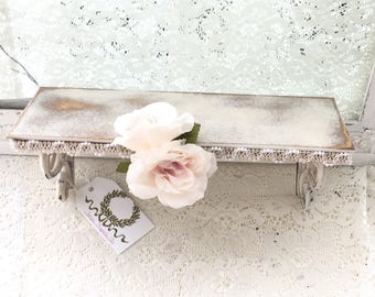 WALL SHELF ~ shabby chic style OOAK