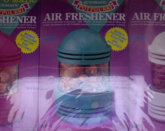 Alaron Electronic Scent-O-Matic Automatic Potpourri Air Freshener Three Set
