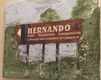 HISTORIC HERNANDO  BILLBOARD