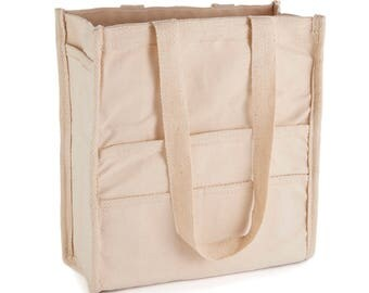 Painters Bag | 100% 15 oz Cotton Canvas | Multiple Pockets for Brushes, Stretched Canvas etc | Perfect for the Plein Air Painter