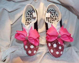 Woman's Bling Dress Up Sneakers  size 8