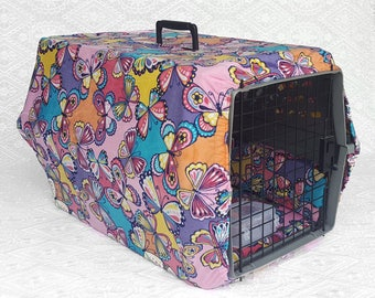 Relaxing Pet Carrier Cover Set Medium ~ Memory Foam Pet Bed ~ Relaxing Pet Taxi Cover ~ Cat Carrier Accessory ~ Toy Dog Carrier ~ Small Dog