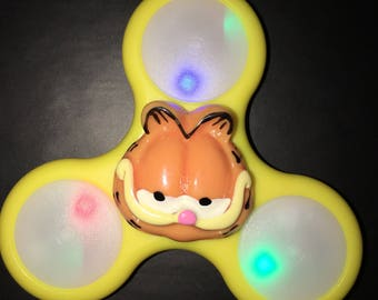 Fidget Spinner - Garfield Custom LED Light Up Fidget Hand Spinner
