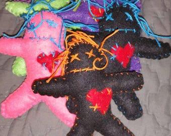 Catnip voodoo doll