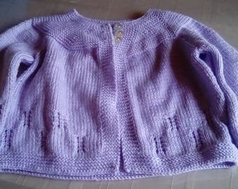 Purple Baby Sweater