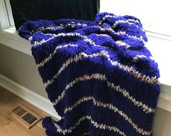 Stripe Throw Blanket