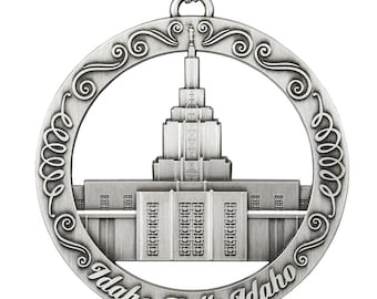 Idaho Falls Idaho LDS Temple Ornament