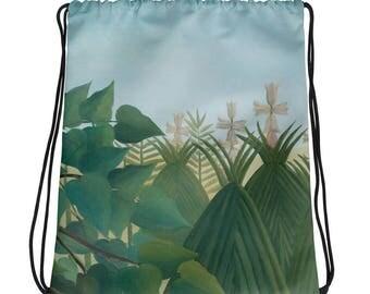 Henri Rousseau, The Waterfall - Drawstring bag