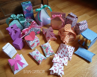Set of 20 small gifts