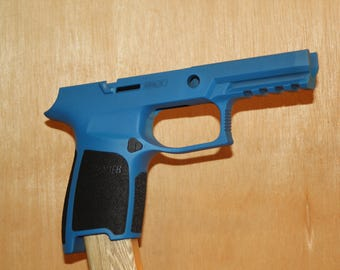 Sig Saure Grip Module, Gen 2 Compact Medium, Sky Blue with Black Grips
