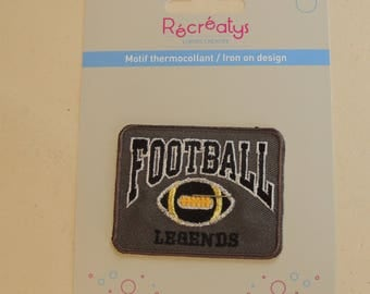 Heat-sealed badges rectangular boy clothing