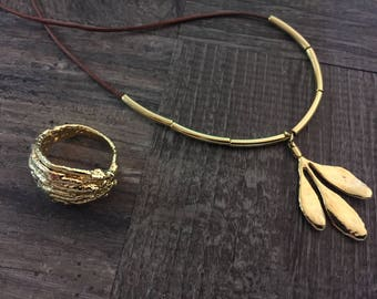 Tuia Ring and Arruda Necklace | Summer Sale