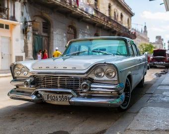 Streets of Havana (FRAMED)