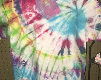 Tie dye shirt kids medium