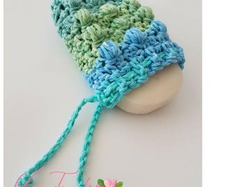 Cotton Soap Saver/Soap Saver/Crochet Soap Saver/FREE SHIPPING in US!/Hanging Soap Holder/Soap Holder/Drawstring Soap Bag/ Soap Bag/Soap Dish