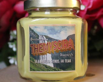 Themyscira | Wonder Woman inspired 6oz soy candle