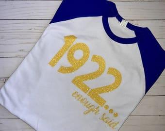 Sigma Gamma Rho Tshirt