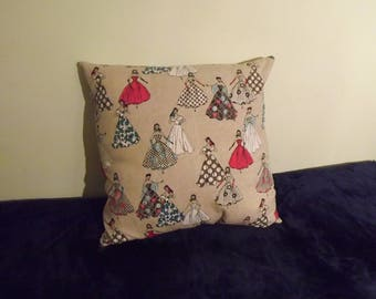 Retro look, Cushion Cover, Throw Cushion Cover