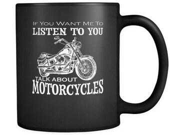 Talk About Motorcycles Mug