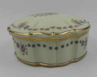 Large trinket box Limoges, France