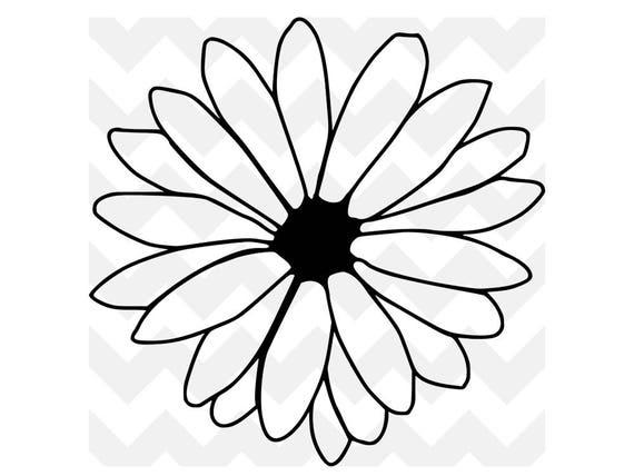 Download Daisy svg   Flower SVG   Daisy Flower Cut File   Cute svg ...