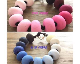 Ombre Beaded Bracelets