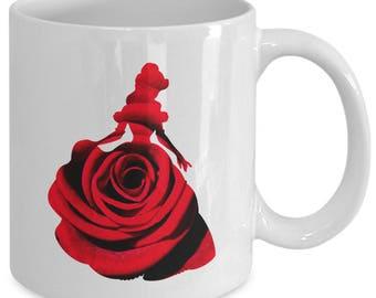 Belle Enchanted Rose Etsy